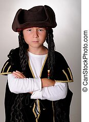 Pirate Boy - Young boy wearing a pirates costume