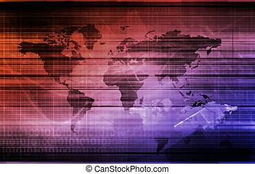 Global Technology and Communications Network as a Concept