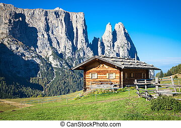 Seiser Alm and Rosengarten in South Tyrol