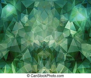 geométrico, Plano de fondo, con, polígonos,