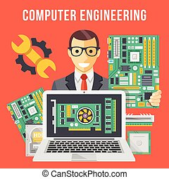 Electrical engineering Vector Clipart EPS Images. 4,600 ...