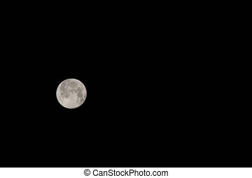 blue moon phase 4K - blue moon phase time-lapse 4K