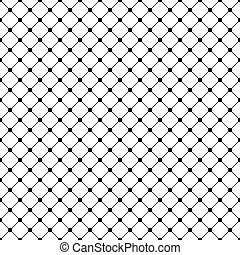 Seamless abstract geometric tracery pattern
