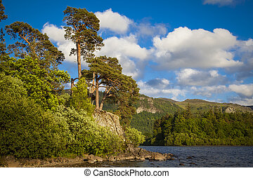 On the shores of Derwentwater near Keswick
