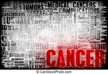 Cancer Medical Illness Disease as Concept Art