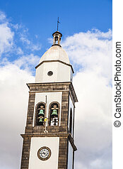 beautiful church of San Gines in Arrecife - The beautiful...