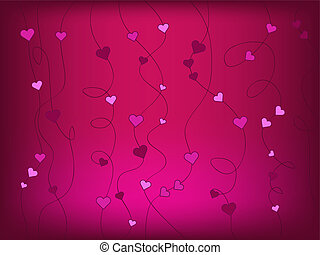 heart background - heart vector abstract background...