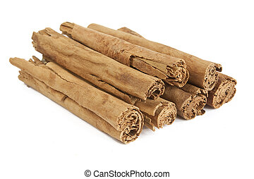 Cinnamon Sticks - Cinnamon sticks isolated on white.