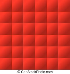 Seamless red padding pattern - Seamless red padded...