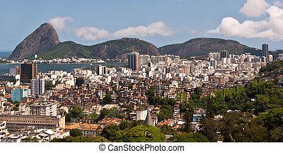 Skyline Rio de Janeiro - Rio de Janeiro Flamengo District...