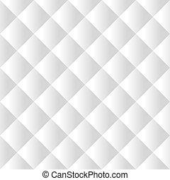 Seamless white padding texture - Seamless white padded...