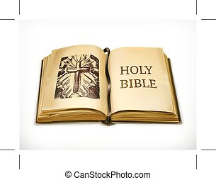 Holy Bible on white - Holy Bible