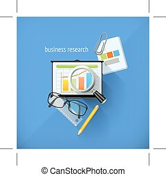business research icons