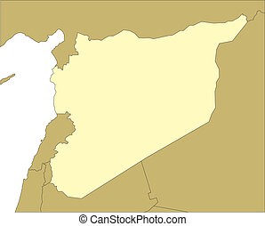 Syria and Surrounding Countries