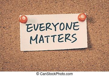 Everyone, asuntos,
