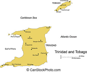 Trinidad and Tobago, Island, Capital - Trinidad and Tobago...