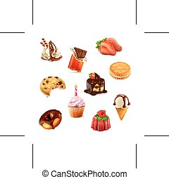 Confectionery, set 1