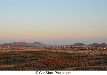 Housing development Desert Mountains - Large housing...