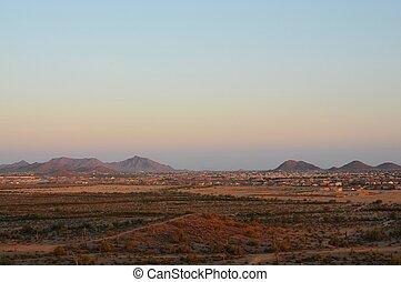 Housing development Desert Mountains - Large housing...