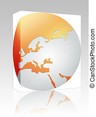 Globe Europe box package