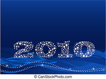 New Year\'s Eve - New year\'s eve background made of stars