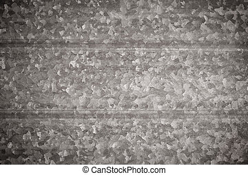 Structured metal surface - Horizontally structured metal...