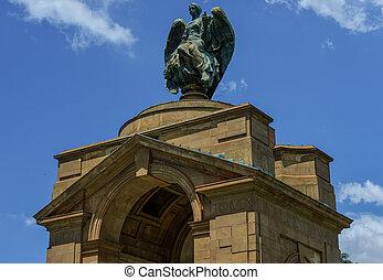 Anglo-Boer, guerra, memorial, JOHANNESBURG,