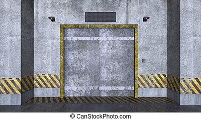 elevator passage