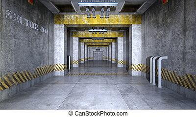 elevator passage - Image of elevator passage