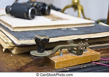 Morse Key - Key wire telegraph Morse