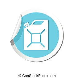 Canister icon Vector illustration