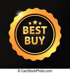 Best buy golden badge