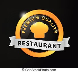 Premium quality restaurant golden