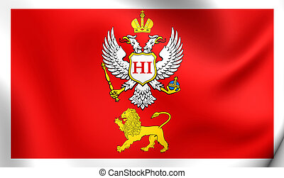 Principality of Montenegro Flag 1878-1910 - Principality of...