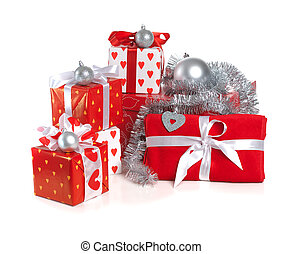 Christmas red gifts