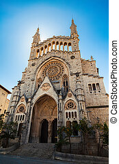 The church of Sant Bartomeu in Soller - The church of Sant...