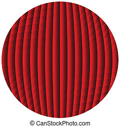 op art sphere