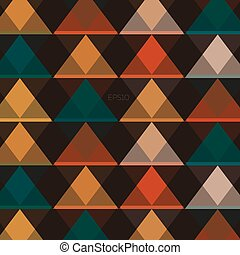 Abstract background with triangles, vector illustration, low polygon