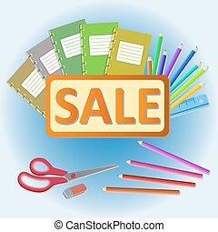 school stationery sale - stationery sale - notebooks,...