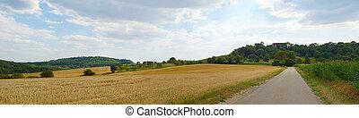 パノラマ, 農地