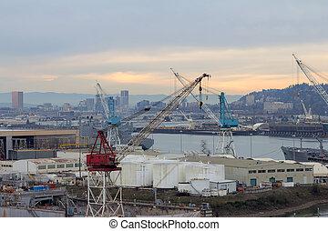 Repair Shipyard in Portland Oregon