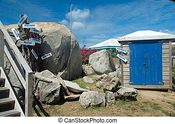 The Baths, Virgin Gorda, BVI - View of the National Park The...
