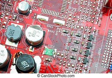 computadora, hardware, electrónica
