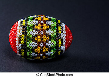 Traditional decorated Eastern egg