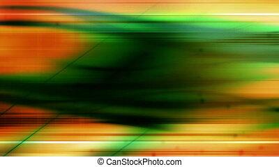 Green Orange Geometric Loop