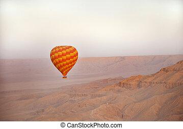 balloon ride egypt - beautiful balloon ride in egypt