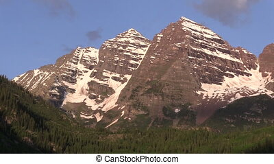 Maroon Bells Summer Landscape - a beautiful summer landscape...