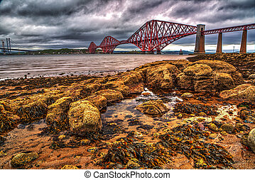View of the Forth Road Bridge