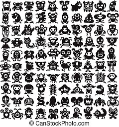 Monsters Collection - Big collection of weird monster...