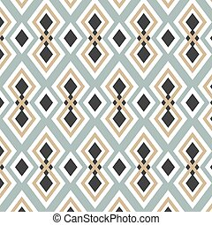Seamless Geometric Color Tile Vector Pattern Background...